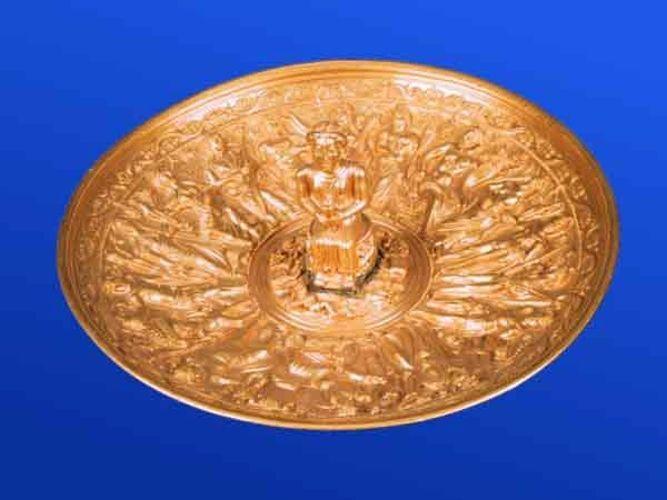 Vas; Pateră - Muzeul Naţional de Istorie a României - BUCUREŞTI (Patrimoniul Cultural National Mobil din Romania. Ordin de clasare: 2511/28.01.2003 - Tezaur)