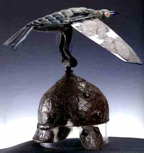 Coif zoomorf - Muzeul Naţional de Istorie a României - BUCUREŞTI (Patrimoniul Cultural National Mobil din Romania. Ordin de clasare: 2511/28.01.2003 - Tezaur)