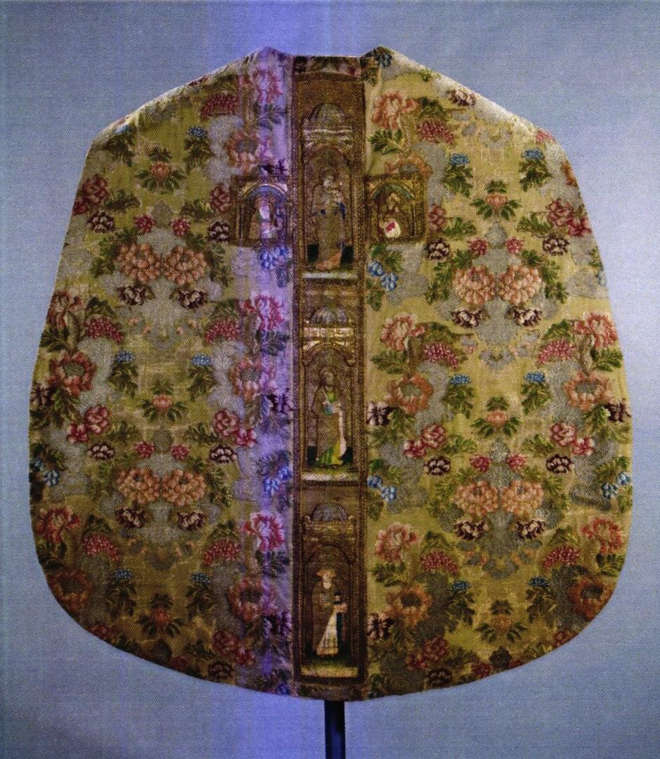 Veşmânt preoţesc - Necunoscut; Casulă - Biserica Evanghelică C.A. - BRAŞOV (Patrimoniul Cultural National Mobil din Romania. Ordin de clasare: 2571/20.07.2018 - Tezaur)