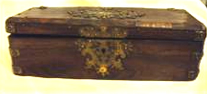 Besactea din lemn - Muzeul Naţional al Literaturii Române - IAŞI (Patrimoniul Cultural National Mobil din Romania. Ordin de clasare: 2195/22.03.2016 - Fond)