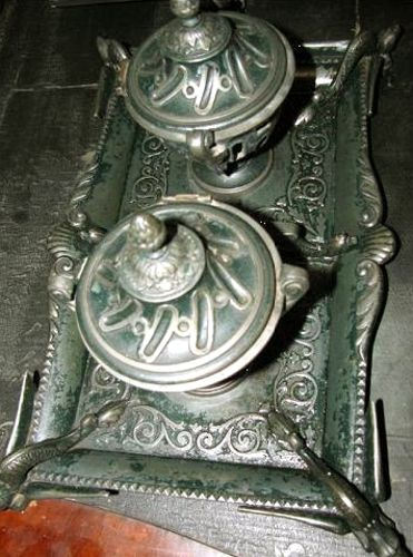 """Vas; Călimară - Muzeul Memorial """"Arany Janos"""" - SALONTA (Patrimoniul Cultural National Mobil din Romania. Ordin de clasare: 2015/11.01.2012 - Fond)"""