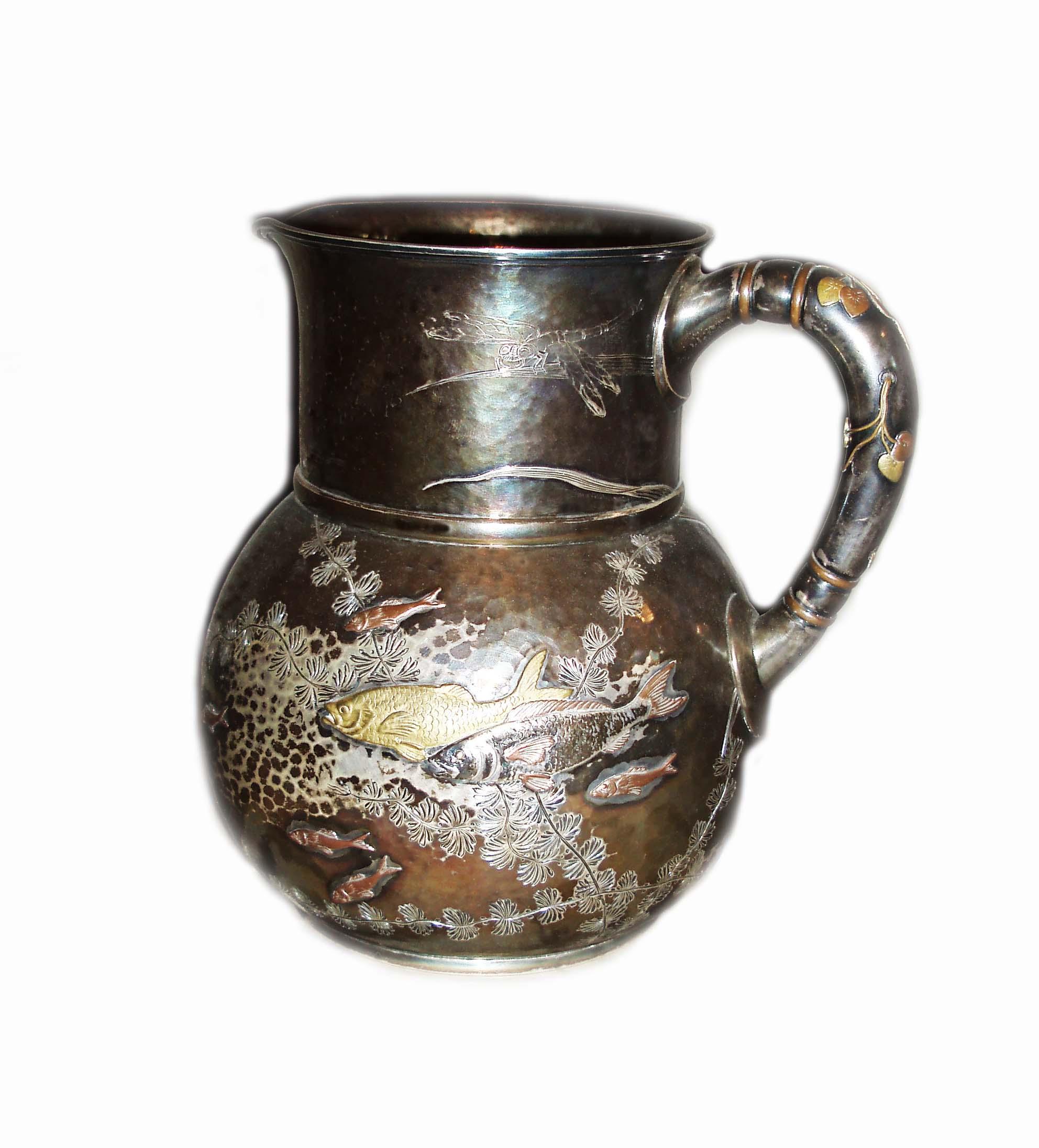 Carafă din argint aurit - Muzeul Municipiului Bucureşti - BUCUREŞTI (Patrimoniul Cultural National Mobil din Romania. Ordin de clasare: 4064/22.12.2016 - Fond)