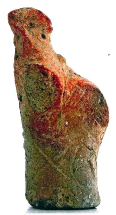 figurină - Muzeul Civilizaţiei Gumelniţa - OLTENIŢA (Patrimoniul Cultural National Mobil din Romania. Ordin de clasare: 2279/22.04.2008 - Tezaur)