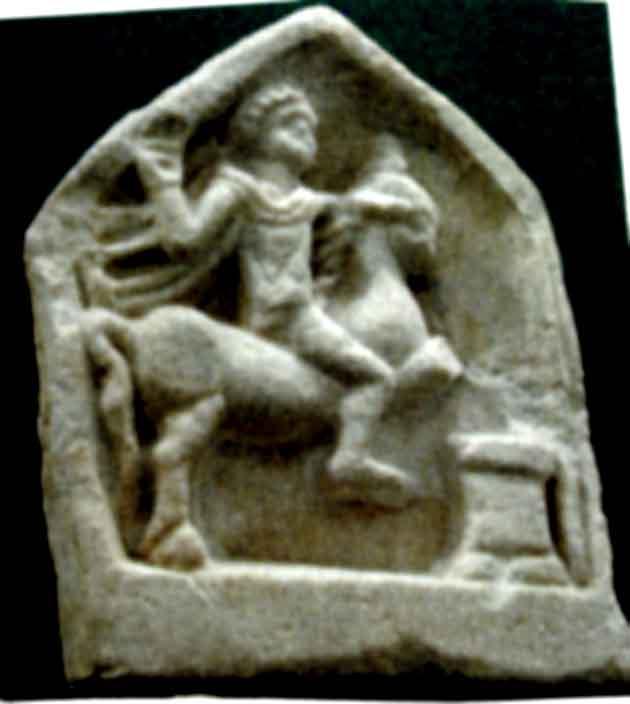 Basorelief; Cavalerul trac - Muzeul de Istorie Naţională şi Arheologie - CONSTANŢA (Patrimoniul Cultural National Mobil din Romania. Ordin de clasare: 2350/02.08.2004 - Tezaur)