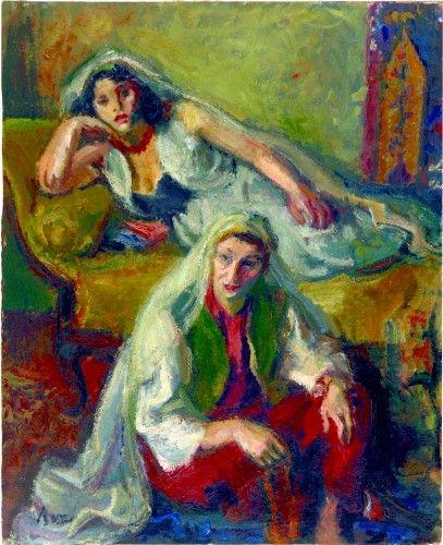 Pictură de şevalet - Iser, Iosif; Compoziţie cu două cadâne - Colecţii particulare (Patrimoniul Cultural National Mobil din Romania. Ordin de clasare: 2303/27.04.2016 - Fond)