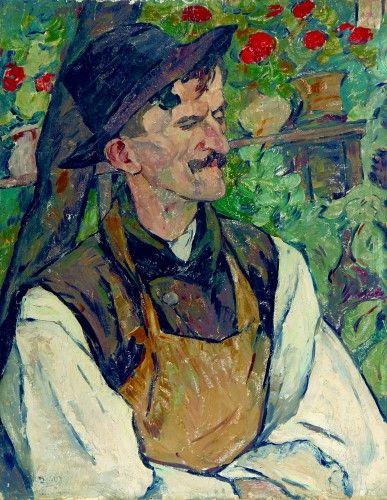 Pictură de şevalet - Theodorescu-Sion, Ion; Portret de ţăran - Colecţii particulare (Patrimoniul Cultural National Mobil din Romania. Ordin de clasare: 2303/27.04.2016 - Fond)