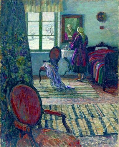 Pictură de şevalet - Mutzner, Samuel; Interior la Şopârliţa - Colecţii particulare (Patrimoniul Cultural National Mobil din Romania. Ordin de clasare: 2303/27.04.2016 - Fond)