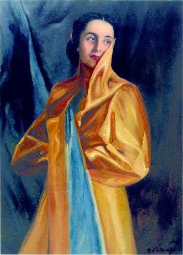 Pictură de şevalet - Catargi, George; Portret de femeie - Colecţii particulare (Patrimoniul Cultural National Mobil din Romania. Ordin de clasare: 2303/27.04.2016 - Fond)
