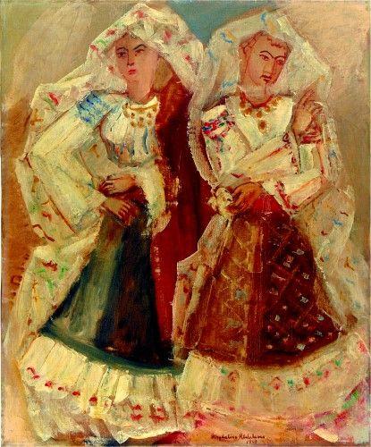 Pictură de şevalet - Rădulescu, Magdalena; Românce - Colecţii particulare (Patrimoniul Cultural National Mobil din Romania. Ordin de clasare: 2303/27.04.2016 - Fond)
