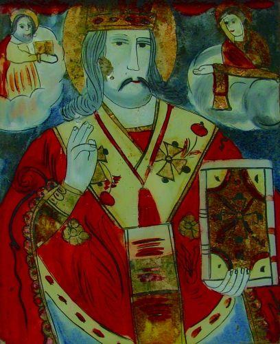 icoană - Prodan, Maria; Sfântul Nicolae - Muzeul Naţional al Unirii - ALBA IULIA (Patrimoniul Cultural National Mobil din Romania. Ordin de clasare: 2119/04.03.2011 - Fond)