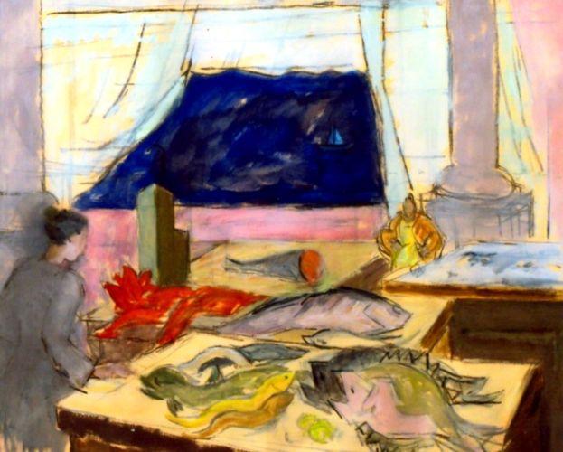 Pictură - Catargi, Henri; Compoziţie III - Muzeul Judeţean Argeş - PITEŞTI (Patrimoniul Cultural National Mobil din Romania. Ordin de clasare: 2467/09.08.2007 - Tezaur)