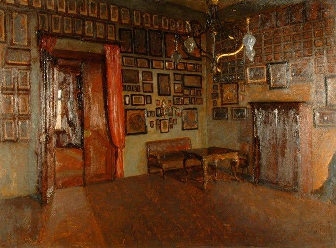 Pictură - Macalik, Alfred; Sala gravurilor - Muzeul Ţării Crişurilor - ORADEA (Patrimoniul Cultural National Mobil din Romania. Ordin de clasare: 2157/13.03.2015 - Fond)