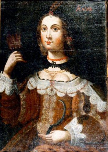 Pictură - Anonim olandez; Portret de femeie - Muzeul Ţării Crişurilor - ORADEA (Patrimoniul Cultural National Mobil din Romania. Ordin de clasare: 2157/13.03.2015 - Fond)