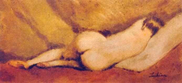 Pictură - Luchian, Ştefan; Nud - Muzeul de Artă - IAŞI (Patrimoniul Cultural National Mobil din Romania. Ordin de clasare: 2114/29.03.2010 - Tezaur)