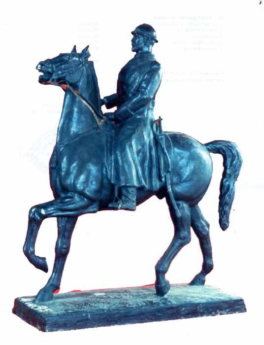 """sculptură; Ferdinand I - Muzeul Judeţean de Artă Prahova """"Ion Ionescu-Quintus""""- PLOIEŞTI (Patrimoniul Cultural National Mobil din Romania. Ordin de clasare: 2345/02.08.2004 - Tezaur)"""