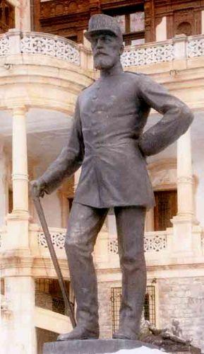 Sculptură - Han, Oscar; Regele Carol I al României - Muzeul Naţional Peleş - SINAIA (Patrimoniul Cultural National Mobil din Romania. Ordin de clasare: 2529/25.02.2003 - Tezaur)
