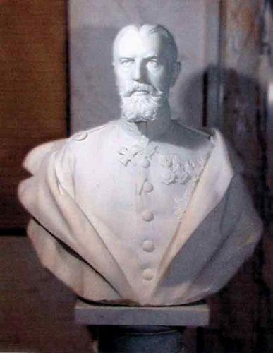 Sculptură - Romanelli, Raffaello; Regele Carol I al României - Muzeul Naţional Peleş - SINAIA (Patrimoniul Cultural National Mobil din Romania. Ordin de clasare: 2529/25.02.2003 - Tezaur)