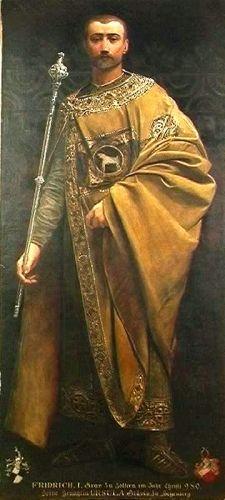 pictură - Klimt, Gustav; Friedrich I, Conte de Zollern - Muzeul Naţional Peleş - SINAIA (Patrimoniul Cultural National Mobil din Romania. Ordin de clasare: 2680/11.06.2003 - Tezaur)
