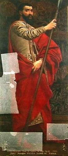 Pictură - Klimt, Gustav; Wolfgang, Conte de Zollern - Muzeul Naţional Peleş - SINAIA (Patrimoniul Cultural National Mobil din Romania. Ordin de clasare: 2680/11.06.2003 - Tezaur)