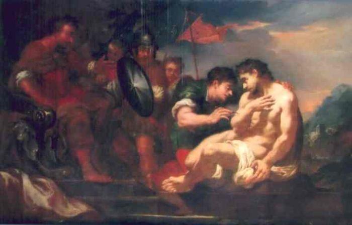 pictură - Altomonte, Martino zis Hohenberg; Moartea lui Seneca - Muzeul Naţional Brukenthal - SIBIU (Patrimoniul Cultural National Mobil din Romania. Ordin de clasare: 2547/08.09.2008 - Fond)
