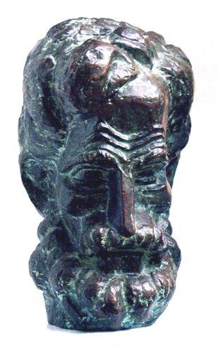 Sculptură - Ladea, Romul; Simion Bărnuţiu - Muzeul Naţional de Artă - CLUJ-NAPOCA (Patrimoniul Cultural National Mobil din Romania. Ordin de clasare: 2298/28.06.2004 - Tezaur)