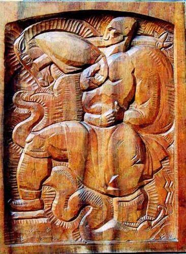 Sculptură - Ladea, Romul; Iovan Iorgovan - Muzeul Naţional de Artă - CLUJ-NAPOCA (Patrimoniul Cultural National Mobil din Romania. Ordin de clasare: 2298/28.06.2004 - Tezaur)