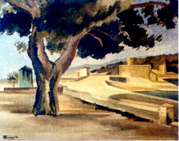 Pictură - Catargi, Henri; Peisaj - Muzeul de Artă - CONSTANŢA (Patrimoniul Cultural National Mobil din Romania. Ordin de clasare: 2317/03.07.2004 - Tezaur)