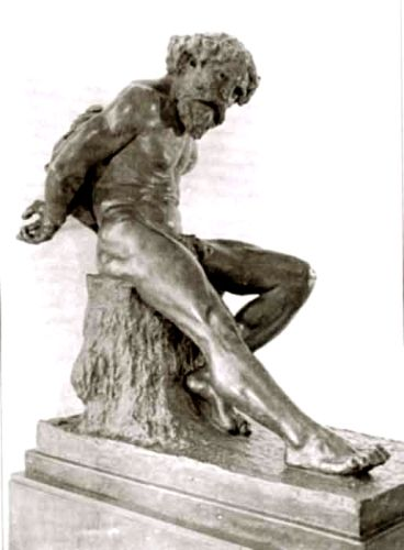 sculptură - Ionescu-Valbudea, Ştefan; Mihai Nebunul