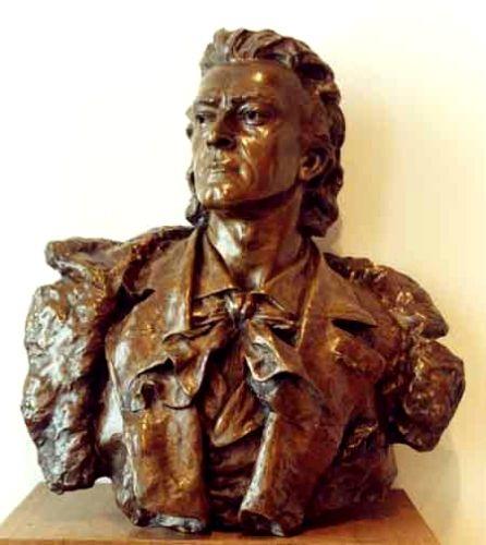 Sculptură - Georgescu, Ioan; Actorul Mihail Pascaly - Muzeul Naţional de Artă al României - BUCUREŞTI (Patrimoniul Cultural National Mobil din Romania. Ordin de clasare: 2510/24.01.2003 - Tezaur)