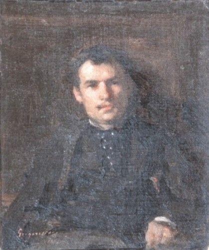 Pictură - Grigorescu, Nicolae; Portret de bărbat - Muzeul Naţional de Artă al României - BUCUREŞTI (Patrimoniul Cultural National Mobil din Romania. Ordin de clasare: 2251/22.04.2013 - Fond)