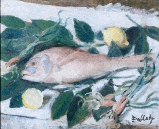 Pictură - Pallady, Theodor; Crapul - Muzeul Naţional de Artă al României - BUCUREŞTI (Patrimoniul Cultural National Mobil din Romania. Ordin de clasare: 2251/22.04.2013 - Fond)
