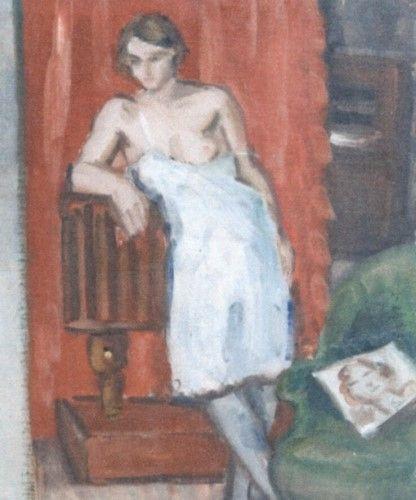 Pictură - Pallady, Theodor; Studiu de femeie - Muzeul Naţional de Artă al României - BUCUREŞTI (Patrimoniul Cultural National Mobil din Romania. Ordin de clasare: 2251/22.04.2013 - Fond)