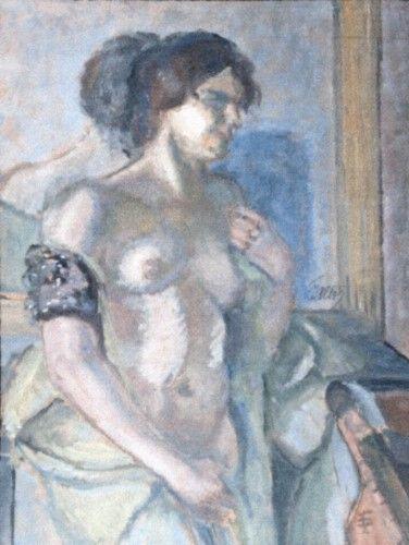 Pictură - Pallady, Theodor; Nud de femeie - Muzeul Naţional de Artă al României - BUCUREŞTI (Patrimoniul Cultural National Mobil din Romania. Ordin de clasare: 2251/22.04.2013 - Fond)