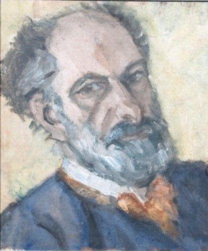 Pictură - Pallady, Theodor; Autoportret - Muzeul Naţional de Artă al României - BUCUREŞTI (Patrimoniul Cultural National Mobil din Romania. Ordin de clasare: 2251/22.04.2013 - Fond)