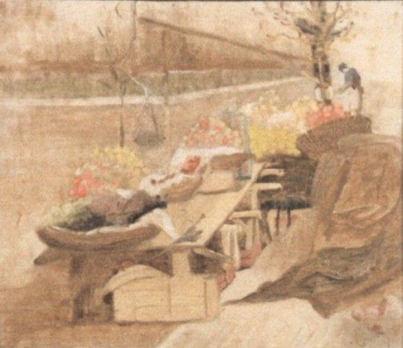 Pictură - Baltazar, Apcar; Piaţă - Muzeul Naţional de Artă al României - BUCUREŞTI (Patrimoniul Cultural National Mobil din Romania. Ordin de clasare: 2251/22.04.2013 - Fond)
