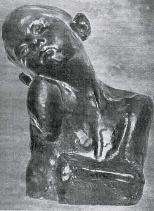 Sculptură - Brâncuşi, Constantin; Supliciu - Muzeul Naţional de Artă al României - BUCUREŞTI (Patrimoniul Cultural National Mobil din Romania. Ordin de clasare: 2603/07.04.2003 - Tezaur)