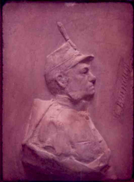 Grafică - Brâncuşi, Constantin; Generalul Carol Davila - Muzeul Naţional de Artă al României - BUCUREŞTI (Patrimoniul Cultural National Mobil din Romania. Ordin de clasare: 3042/14.07.1998 - Tezaur)