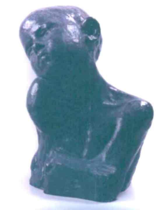 Sculptură - Brâncuşi, Constantin; Supliciu - Muzeul Naţional de Artă al României - BUCUREŞTI (Patrimoniul Cultural National Mobil din Romania. Ordin de clasare: 3042/14.07.1998 - Tezaur)