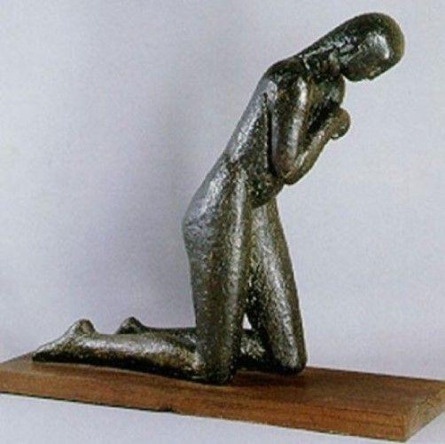 Sculptură - Brâncuşi, Constantin; Rugăciunea - Muzeul Naţional de Artă al României - BUCUREŞTI (Patrimoniul Cultural National Mobil din Romania. Ordin de clasare: 3042/14.07.1998 - Tezaur)