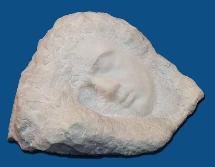 Sculptură - Brâncuşi, Constantin; Somnul - Muzeul Naţional de Artă al României - BUCUREŞTI (Patrimoniul Cultural National Mobil din Romania. Ordin de clasare: 3042/14.07.1998 - Tezaur)