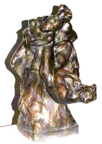 sculptură - Jalea, IonCăderea îngerilor - Muzeul Naţional de Artă al României - BUCUREŞTI (Patrimoniul Cultural National Mobil din Romania. Ordin de clasare: 2821/10.10.2003 - Tezaur)