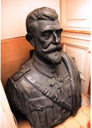 Sculptură - Dimitriu-Bârlad, Ion; Regele Ferdinand I - Muzeul Naţional Cotroceni - BUCUREŞTI (Patrimoniul Cultural National Mobil din Romania. Ordin de clasare: 2484/22.10.2013 - Fond)