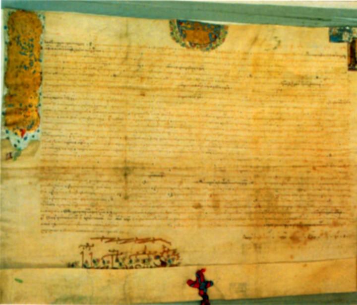 Document - Miron Barnovschi Movilă; Danie de sat Toporăuţi - Complexul Muzeal Bucovina - SUCEAVA (Patrimoniul Cultural National Mobil din Romania. Ordin de clasare: 2318/13.06.2007 - Tezaur)