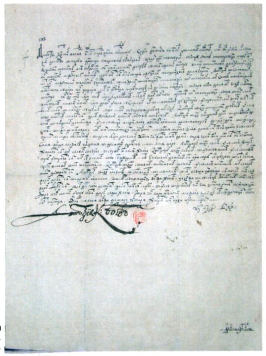 Document - Dimitrie Cantemir; Întărire scutiri pentru satul Toporăuţi - Complexul Muzeal Bucovina - SUCEAVA (Patrimoniul Cultural National Mobil din Romania. Ordin de clasare: 2319/13.06.2007 - Fond)