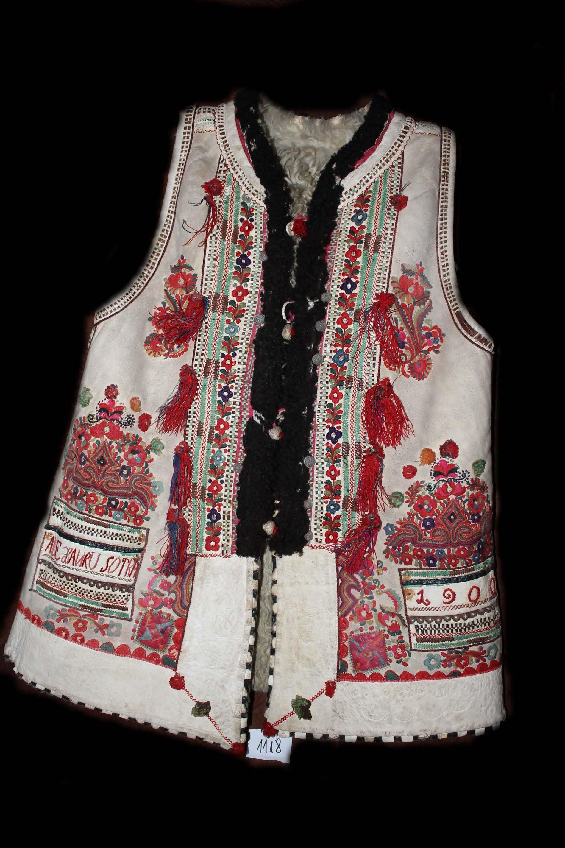 Pieptar bărbătesc; Pieptar - Complexul Muzeal Bistriţa-Năsăud - BISTRIŢA (Patrimoniul Cultural National Mobil din Romania. Ordin de clasare: 4009/12.12.2016 - Fond)