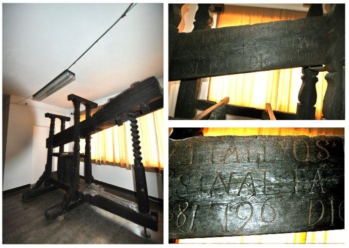 Vitalyos Istvan; Teasc de struguri - Muzeul Judeţean - SATU MARE (Patrimoniul Cultural National Mobil din Romania. Ordin de clasare: 2643/17.10.2011 - Tezaur)