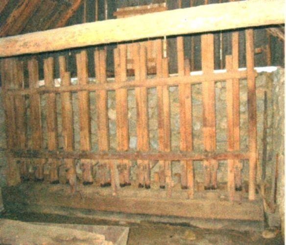 piuă cu săgeţi - Complexul Naţional Muzeal ASTRA - SIBIU (Patrimoniul Cultural National Mobil din Romania. Ordin de clasare: 2065/16.02.2006 - Tezaur)