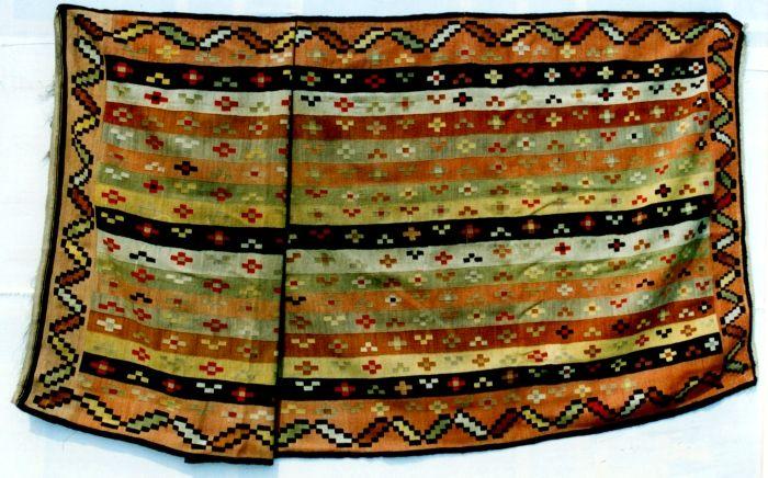 """Covor; Scoarţă - Muzeul Naţional al Satului """"Dimitrie Gusti"""" - BUCUREŞTI (Patrimoniul Cultural National Mobil din Romania. Ordin de clasare: 2444/19.10.2009 - Tezaur)"""
