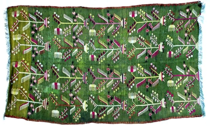 """Covor; Scoarţă - Muzeul Naţional al Satului """"Dimitrie Gusti"""" - BUCUREŞTI (Patrimoniul Cultural National Mobil din Romania. Ordin de clasare: 2471/09.11.2009 - Tezaur)"""