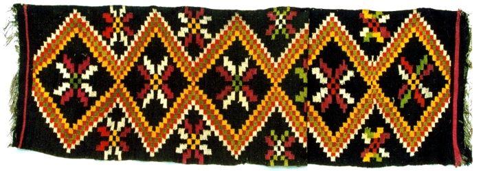 """Covor; Lăicer - Muzeul Naţional al Satului """"Dimitrie Gusti"""" - BUCUREŞTI (Patrimoniul Cultural National Mobil din Romania. Ordin de clasare: 2472/09.11.2009 - Fond)"""